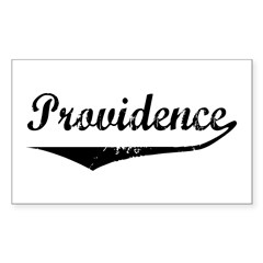Providence Rectangle Decal