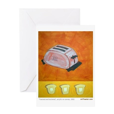 Toaster series paintings Greeting Card