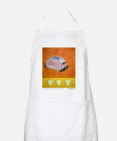 Toaster series paintings BBQ Apron
