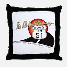 Unique Marquette Throw Pillow