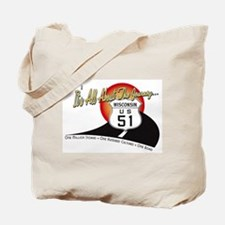 Hold Everything! WI Hwy 51 Tote Bag