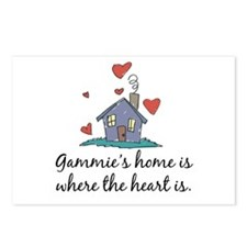 Gammie's Home is Where the Heart Is Postcards (Pac