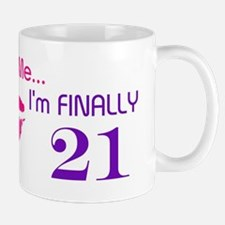 Kiss Me I'm 21 Mug