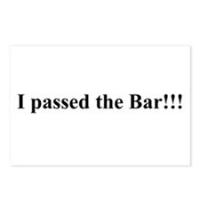 I Passed the Bar Postcards (Package of 8)