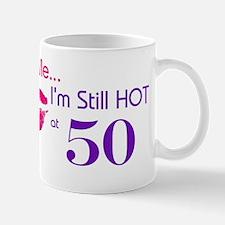 Kiss Me I'm Hot 50 Mug