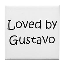Unique Gustavo Tile Coaster