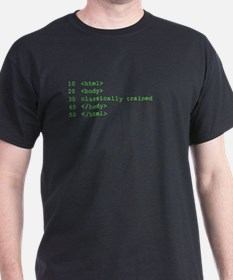 Classically Trained HTML T-Shirt