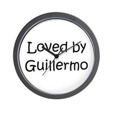 Funny Guillermo Wall Clock