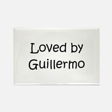 Funny Guillermo Rectangle Magnet