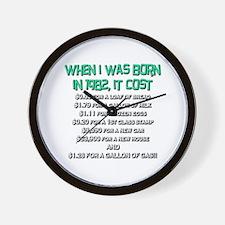 Price Check 1982 Wall Clock