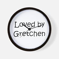 Cute Gretchen Wall Clock