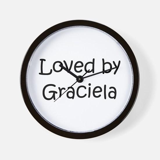 Cute Graciela Wall Clock