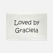 Unique Graciela Rectangle Magnet