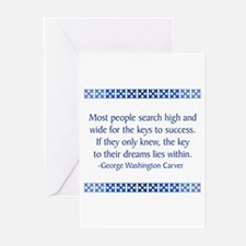 Carver Greeting Cards (Pk of 10)
