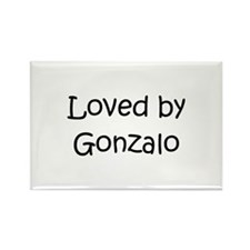 Cute Gonzalo Rectangle Magnet
