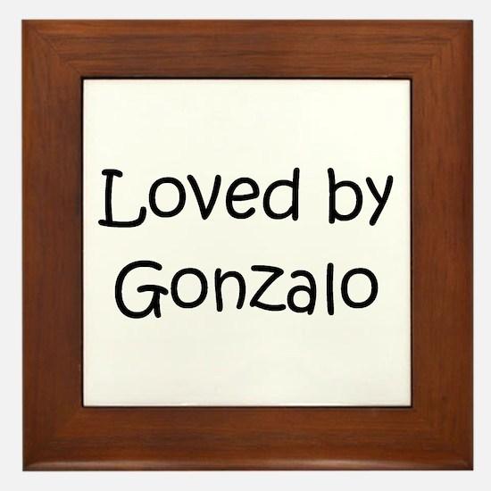 Cute Gonzalo Framed Tile
