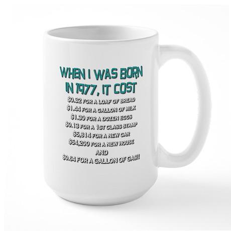 Price Check 1977 Large Mug