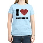 I heart vampires Women's Light T-Shirt