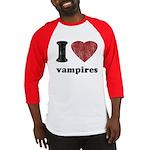 I heart vampires Baseball Jersey
