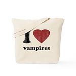 I heart vampires Tote Bag