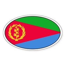 Eritrean stickers Oval Decal