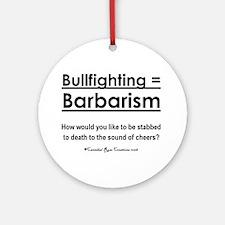 Bull Rights Ornament (Round)