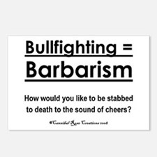 Bull Rights Postcards (Package of 8)