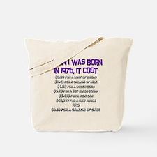Price Check 1976 Tote Bag