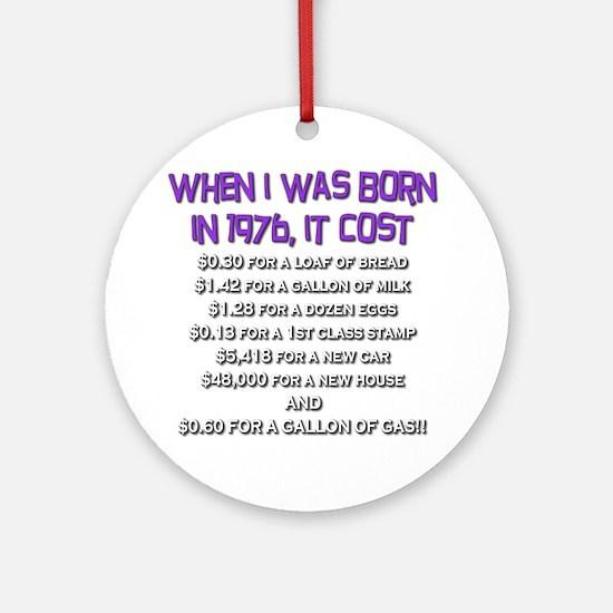Price Check 1976 Ornament (Round)