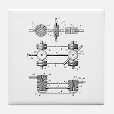 Tinker Toys Tile Coaster