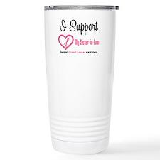 Breast Cancer Support Travel Mug
