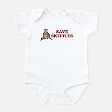 SAVE SKITTLES SHIRT BUMPER ST Infant Bodysuit