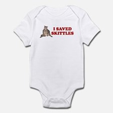 I SAVED SKITTLES CAT SURGERY Infant Bodysuit