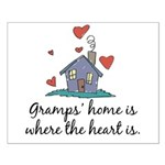Gramps' Home is Where the Heart Is Small Poster