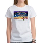 XmasSunrise/Norweg Elkhnd Women's T-Shirt