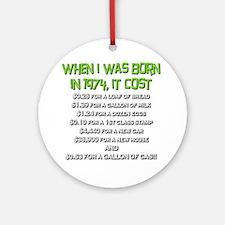 Price Check 1974 Ornament (Round)