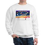 XmasSunrise/Chi Crested Sweatshirt