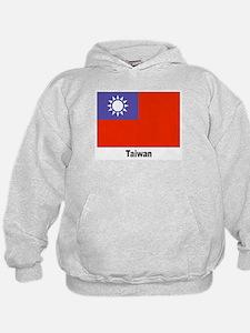 Taiwan Flag (Front) Hoodie
