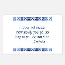 Confucius Postcards (Package of 8)