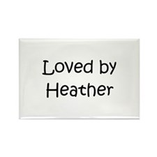 Cool Heather Rectangle Magnet (10 pack)