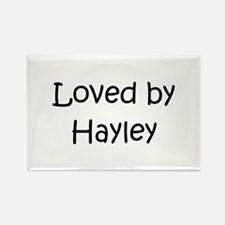 Cute Hayley Rectangle Magnet