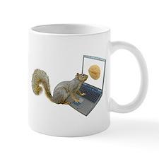 Squirrel at Computer Mug