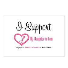 BreastCancerSupport Postcards (Package of 8)
