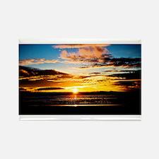 California Sunset Rectangle Magnet (10 pack)