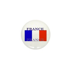 France French Flag Mini Button (100 pack)