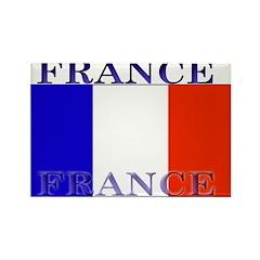 France French Flag Rectangle Magnet (10 pack)