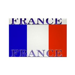 France French Flag Rectangle Magnet
