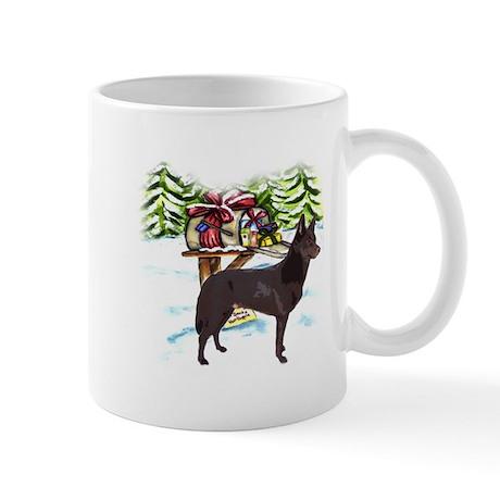 Kelpie Christmas Mug