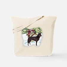 Kelpie Christmas Tote Bag