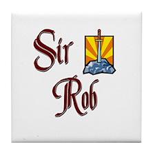 Sir Rob Tile Coaster